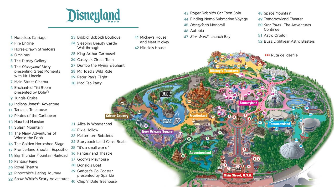 Disneyland Resort California – Hoteles Resort Disneyland – MC ...